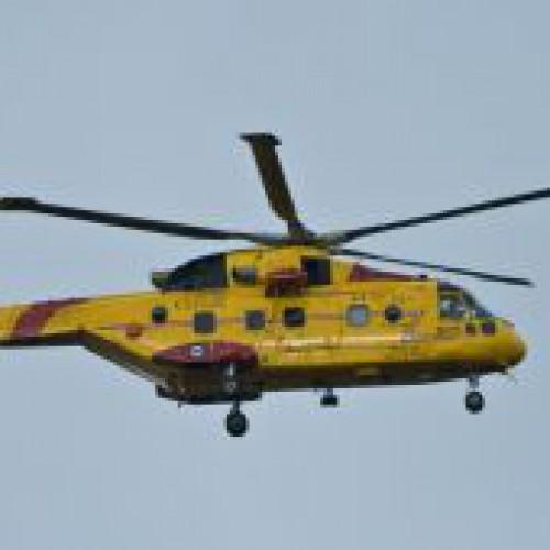 22 – letni mężczyzna wszczął awanturę na pokładzie helikoptera ratunkowego