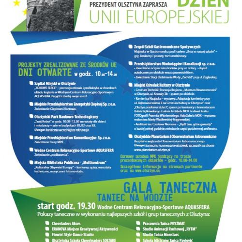 Europejska majówka w Olsztynie – sprawdź program