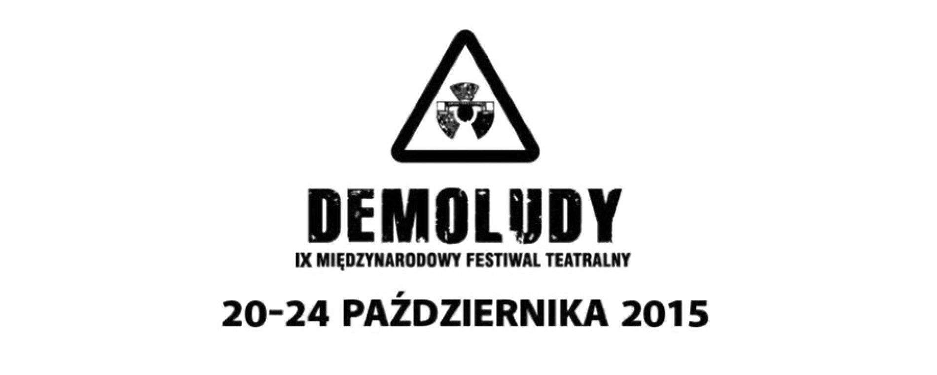 Międzynarodowy Festiwal Teatralny Demoludy rozpocznie się 20 października