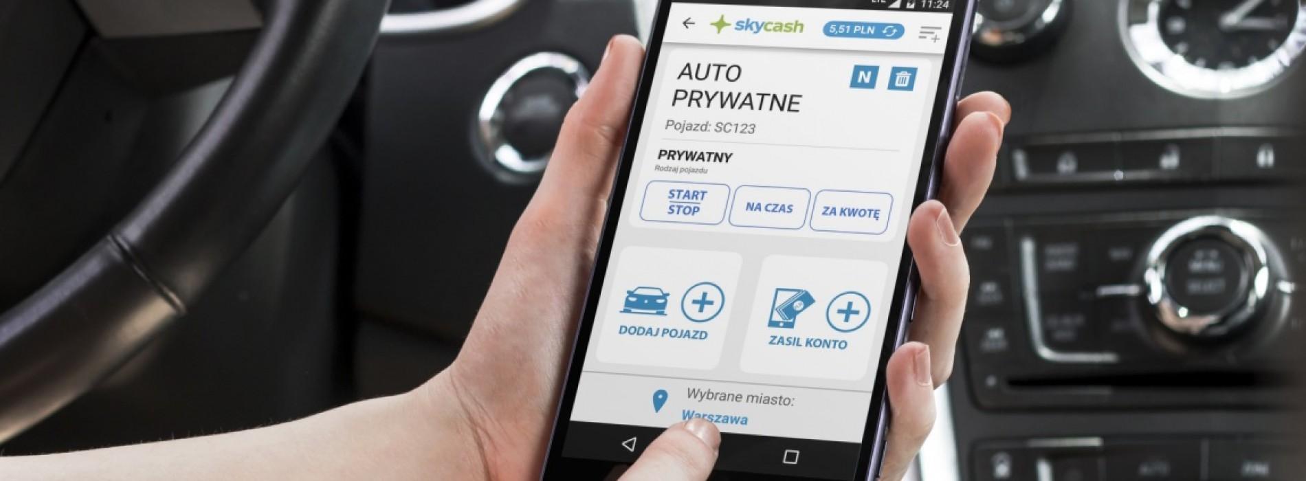 Szybsze płatności telefonem za parkowanie w Olsztynie