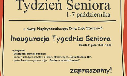 Olsztyńscy seniorzy szykują się do swego święta