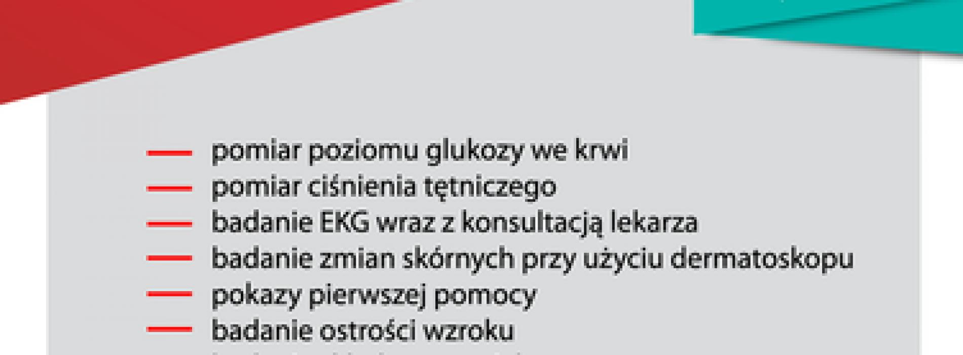 """Kolejna edycja akcji """"Zdrowie pod kontrolą"""""""