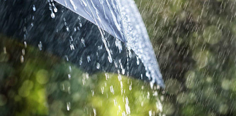 Intensywne opady deszczu na Warmii i Mazurach