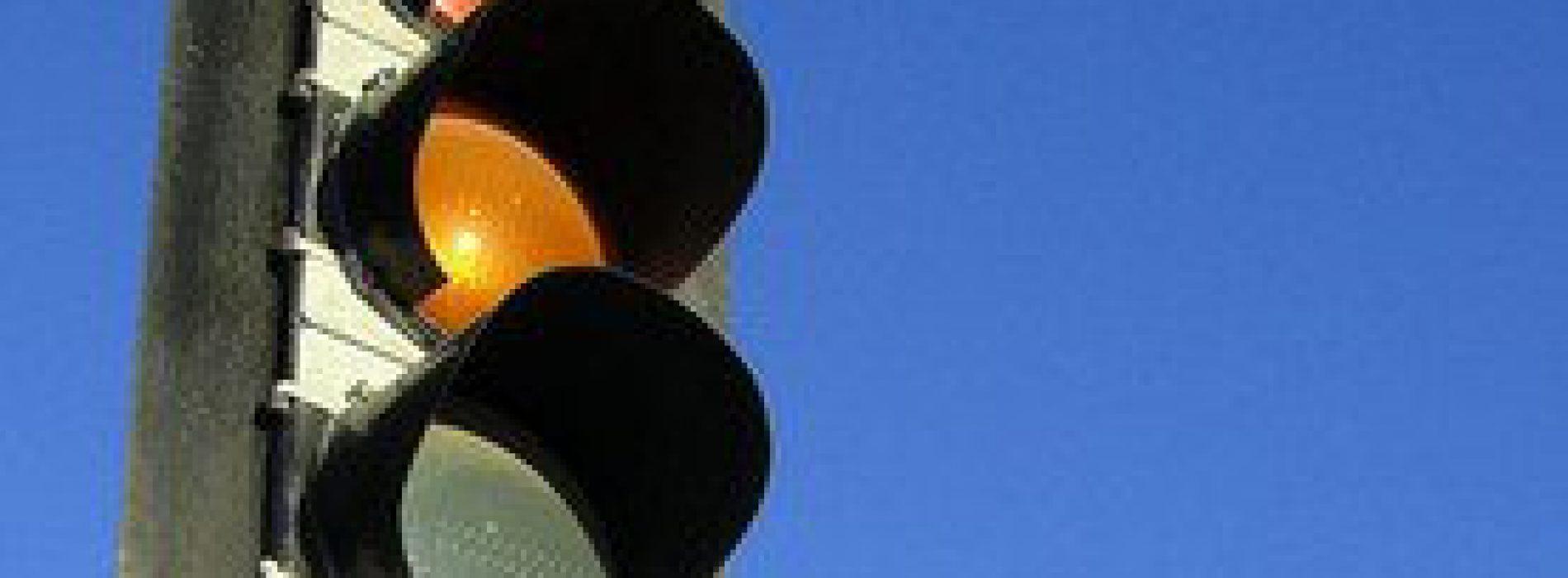 Wyłączone światła usprawniają ruch w Olsztynie