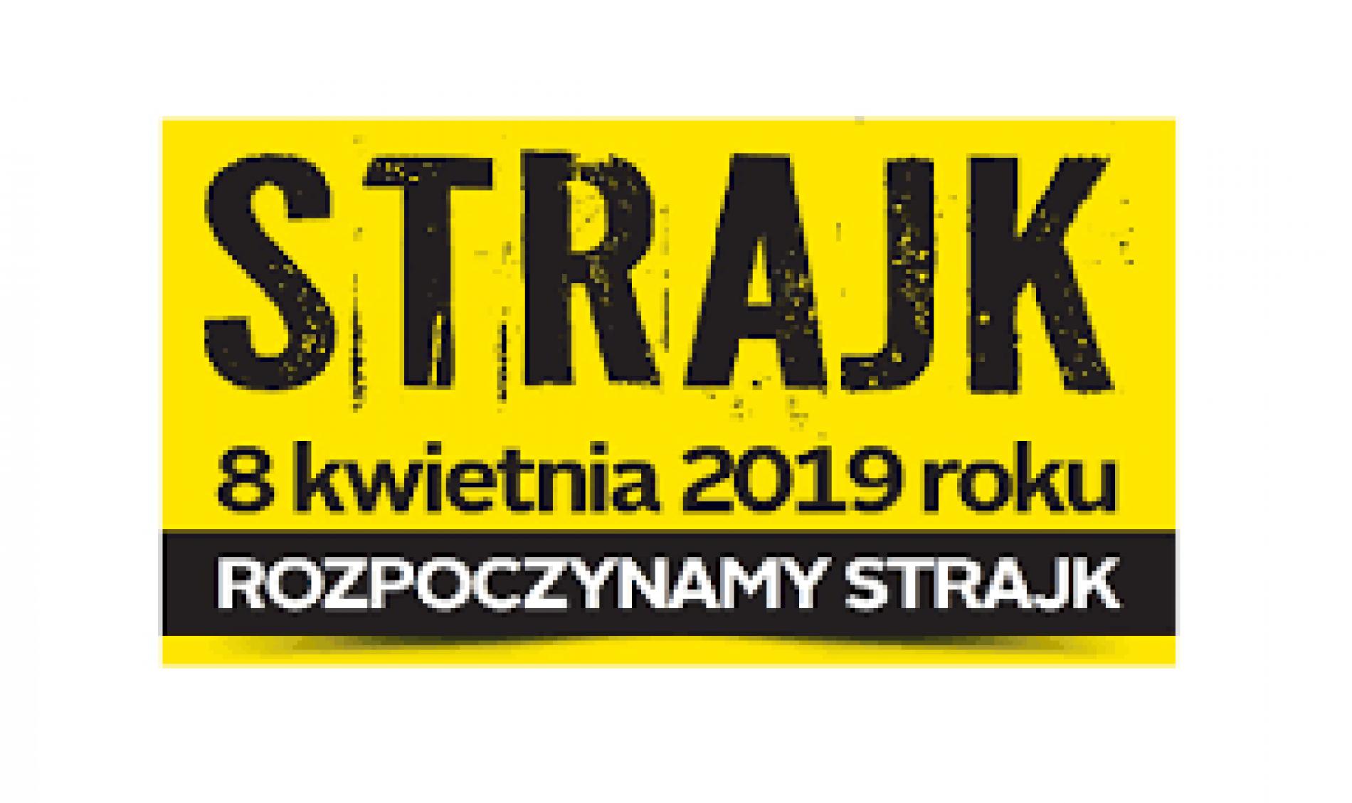 W Olsztynie ponad 40 szkół i placówek oświatowych w Olsztynie przystąpiło do strajku