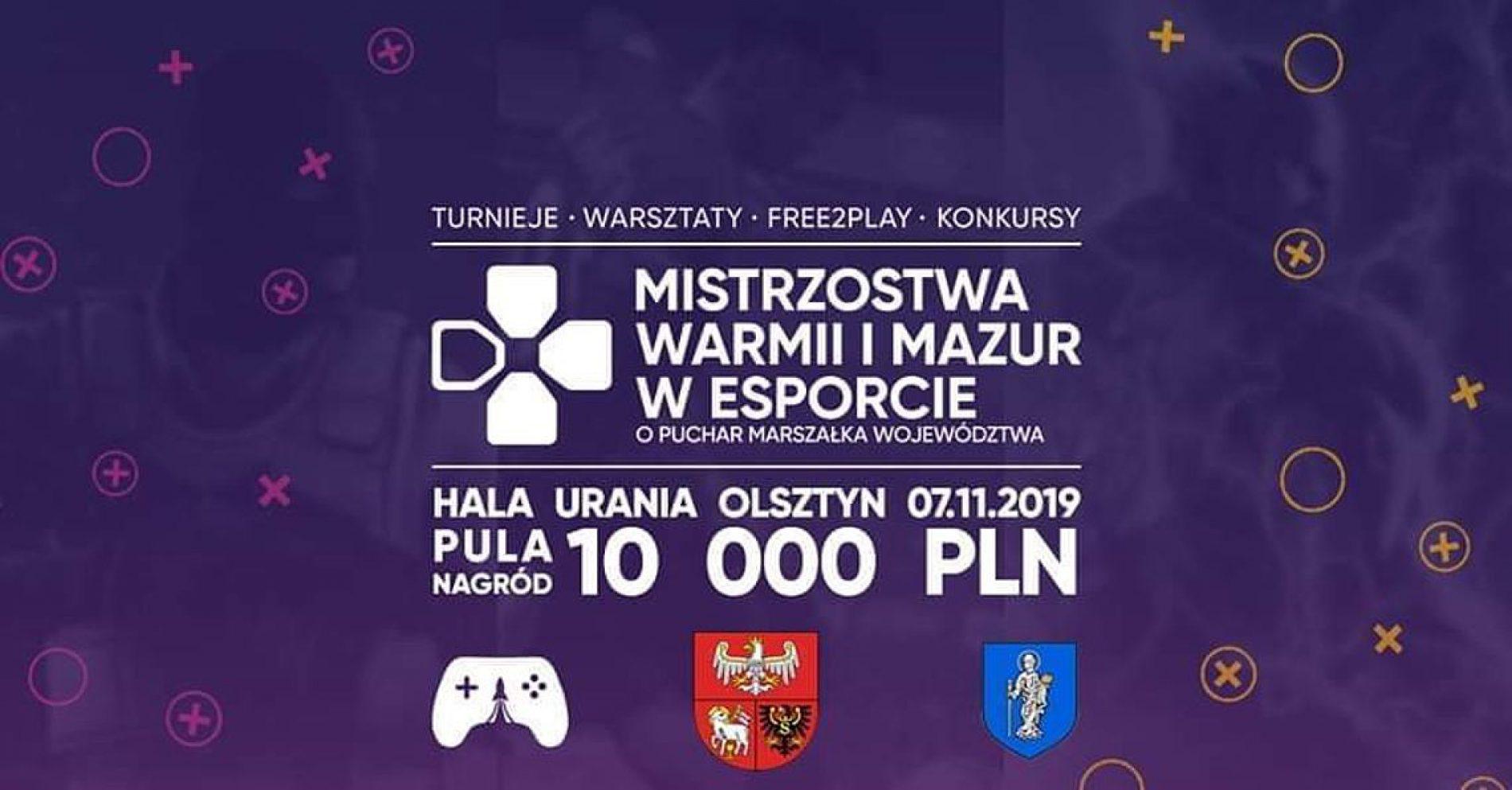 II edycja Mistrzostw Warmii i Mazur w E-sporcie